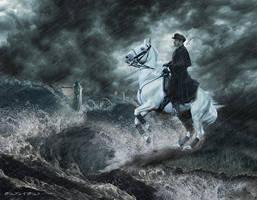 Der Schimmelreiter  - The Rider on the White Horse by einstein64k
