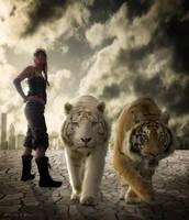 steampunk meets tiger by einstein64k