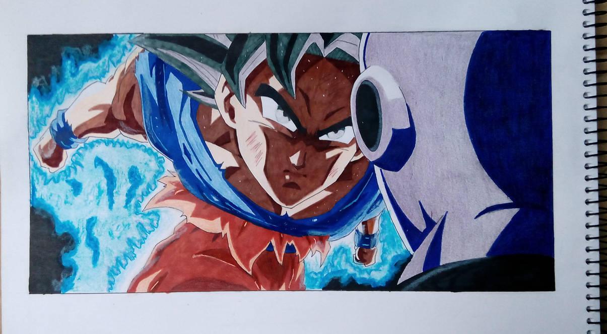 Dibujos Para Colorear De Goku Y Jiren Primitivelife Pw