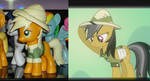 Another Daring Do WIP by OtakuSquirrel
