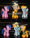 Daring Do's Elite Adventure Team by OtakuSquirrel