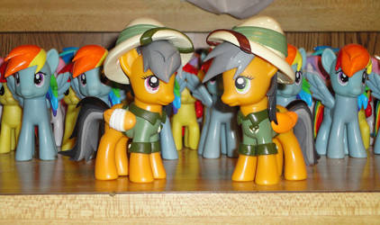 Daring Do times Two! by OtakuSquirrel