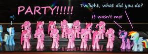 Pinky Party! by OtakuSquirrel