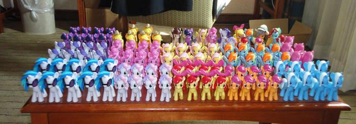 The Great EFNW Pony Army! by OtakuSquirrel