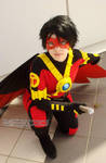 Tim Drake- Red Robin (New 52) by ChibiMisa94