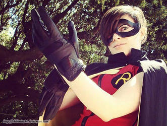 Young Justice- Robin by ChibiMisa94
