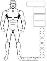 Male figure model-animated sty by Joe-Singleton