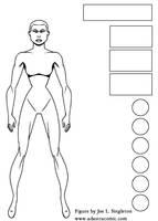 Female figure model by Joe-Singleton