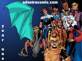 Ad Astra Year One wallpaper by Joe-Singleton