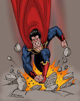 Ultraman colored by Joe-Singleton