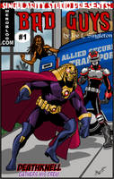 Bad Guys mock cover by Joe-Singleton