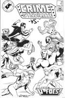 Crime Syndicate vs U-Foes by Joe-Singleton