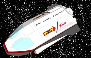 Shuttlecraft Bowie by Joe-Singleton