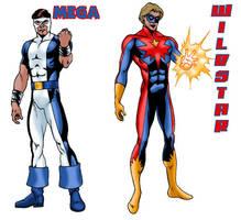 Mega and Wildstar by Joe-Singleton