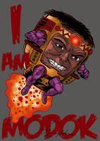 I am MODOK, BITCH by Joe-Singleton