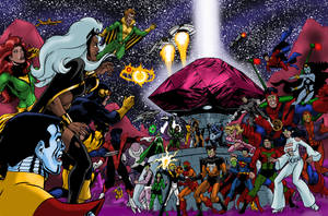 Where no X-Man has gone before! Now, in color! by Joe-Singleton