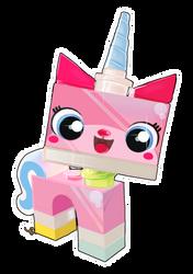 Princess Unikitty! by QueenRebecca