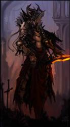 Death knight Commission. by TripleZandar