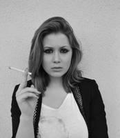 Cigarette Smoker by PrettyInPunk24
