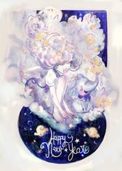 Best Wishes 2016 by valeriebastille
