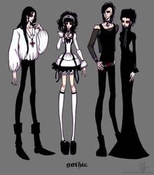 Gothic by valeriebastille