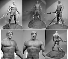 Alex Ross Aquaman by alterton