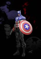 Captain America Bucky ps by alterton