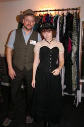 Jake von Slatt and Lady Almira by HMSChronabelle