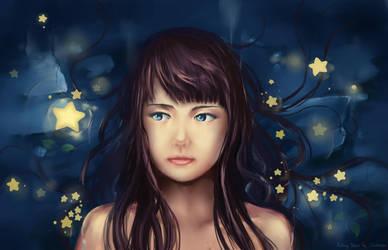 Falling Stars by Chibionpu