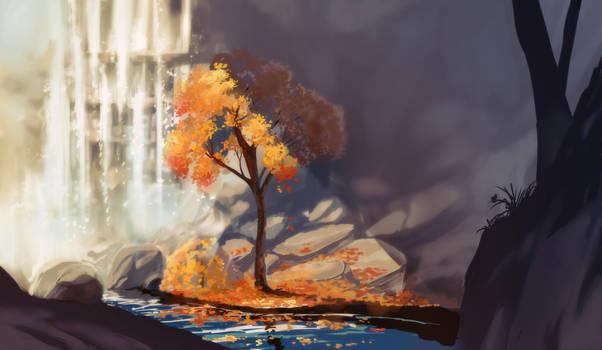 Falling Warmth by Chibionpu