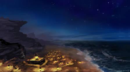 Sea by Chibionpu