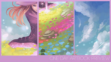 One Day Artbook Preview by Chibionpu