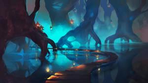 Swamp by Chibionpu