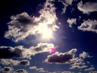 blue blue sky by quens