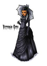 Goth stereotype #15: Victorian Goth by HellgaProtiv