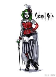 Goth stereotype #23: Cabaret Goth by HellgaProtiv