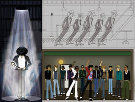MJ Tribute - work in progress by Razkall