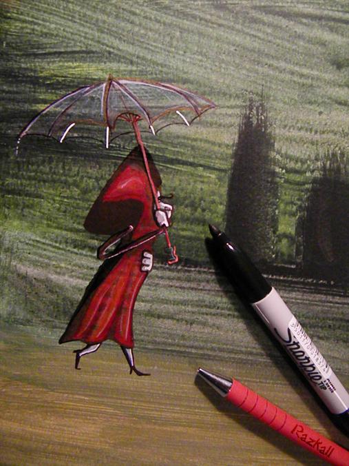 afternoon sketch - work in progress - by Razkall