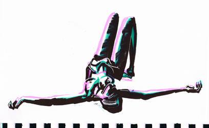 Speed sketch - Relax by Razkall