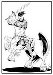Centaur_commission by BTFly009