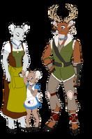 Greenleaf Family by modesty