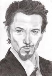 Tony Stark by V-Redmond