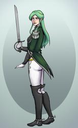 Green Huntress for Kwill by Orange-Castle
