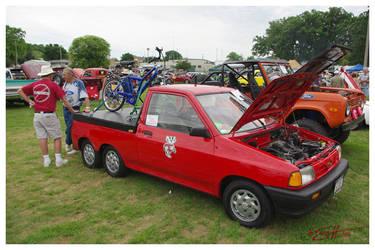6 Wheel Festiva by scottalynch