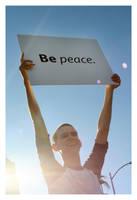 be PEACE by allis0nfaith