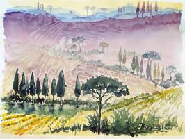tuscany sketch by indojo