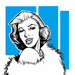 Marilyn by davidfaught