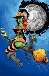 witchy witch by davidfaught