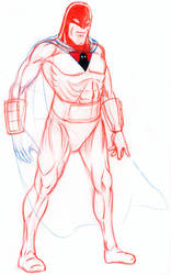 Space Ghost (pencil) by yomark