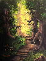 Druids forest by catapat